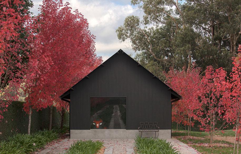 Adam Kane Architects Macedon Ranges exterior