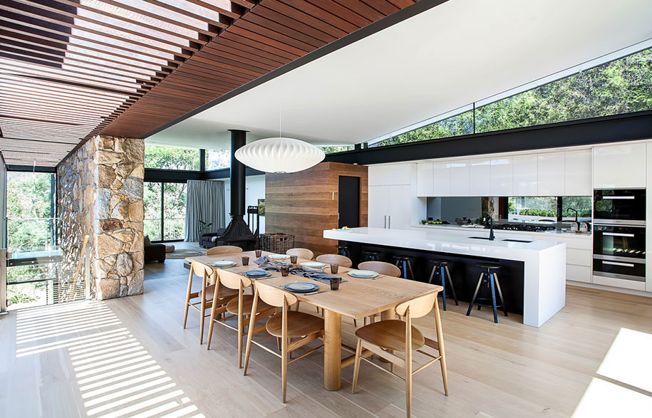 Alexandra Buchanan Architecture North Warrandyte dining