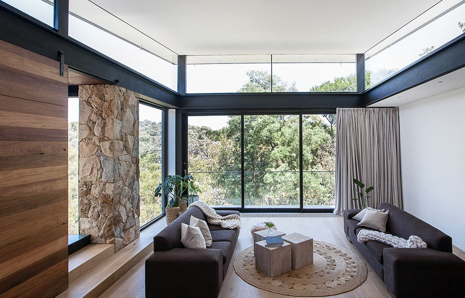 Alexandra Buchanan Architecture North Warrandyte living
