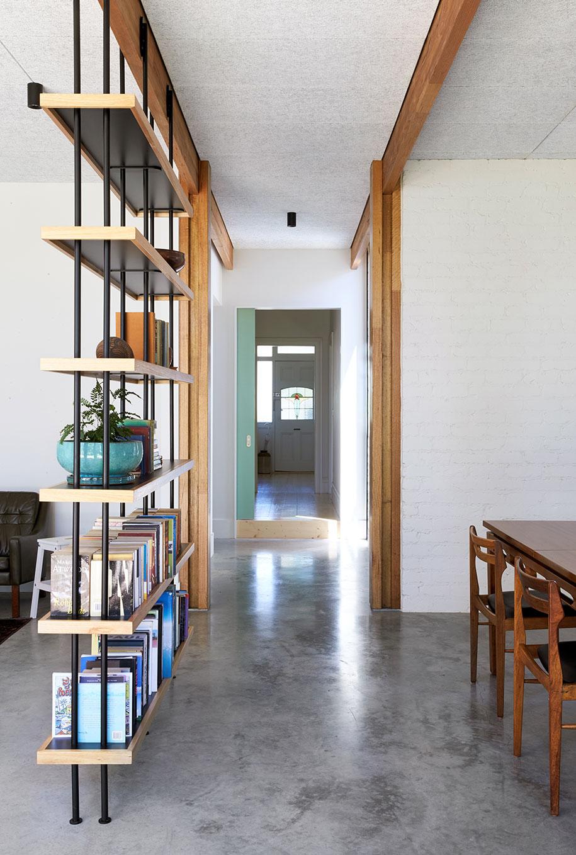 Ballantyne Foomann Architects bookshelf