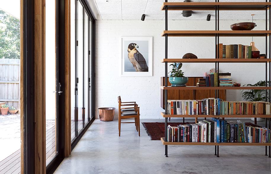 Ballantyne Foomann Architects living room