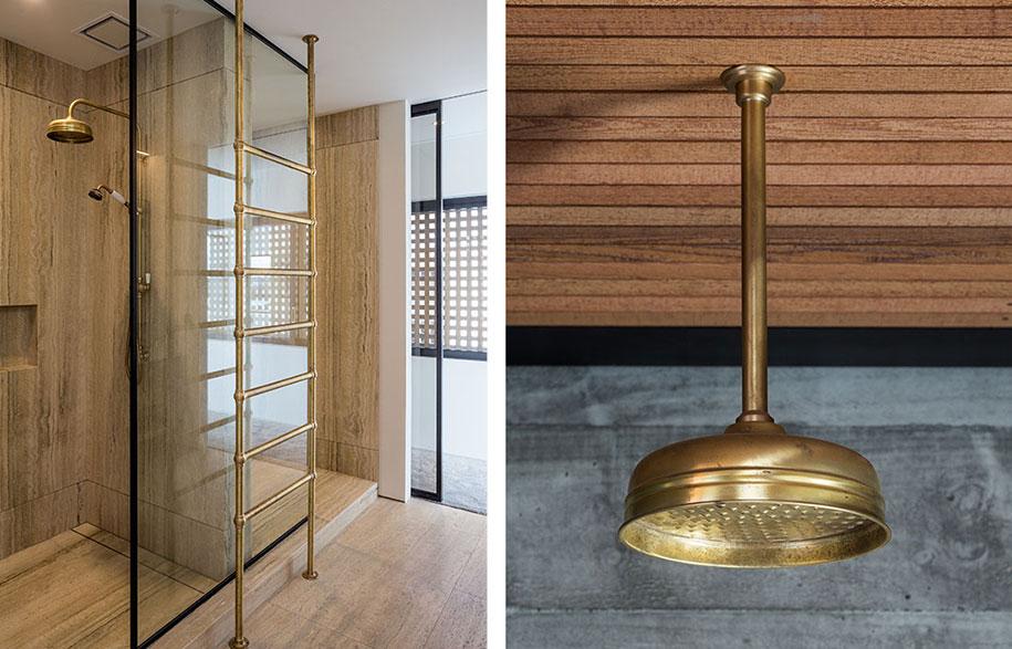 Brass-towel-warmer-and-shower
