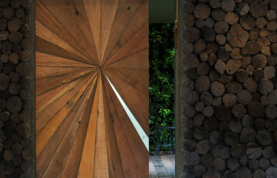 Chang Architects Cornwall Gardens timber detail