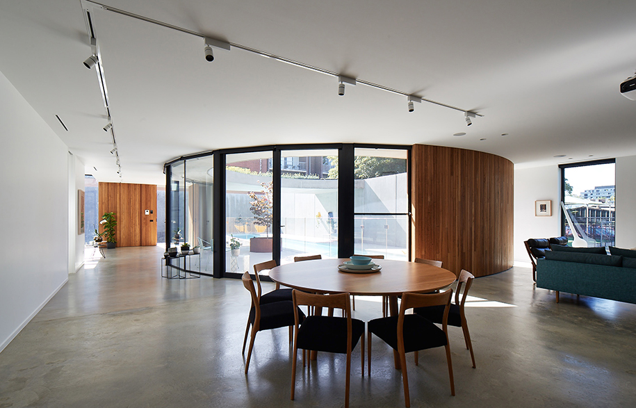 Church Conversion Kister Architects dining room