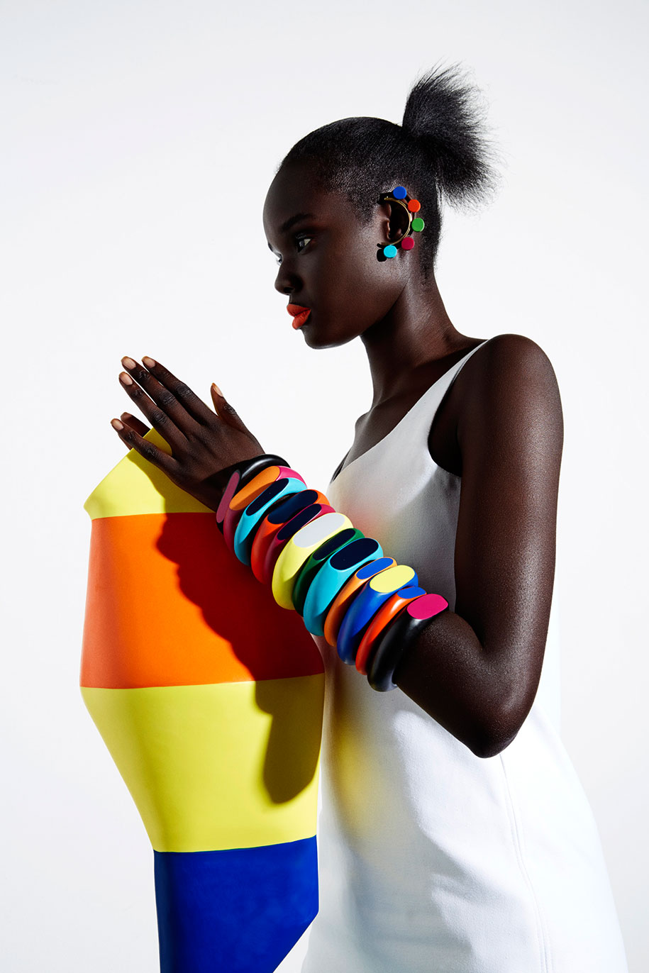 Dinosaur-Designs_Colour-Block_Jewellery_Coloured-Bangle-Stack_Totems
