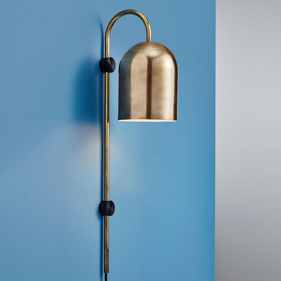 Duomo+Brass+Wall+Light