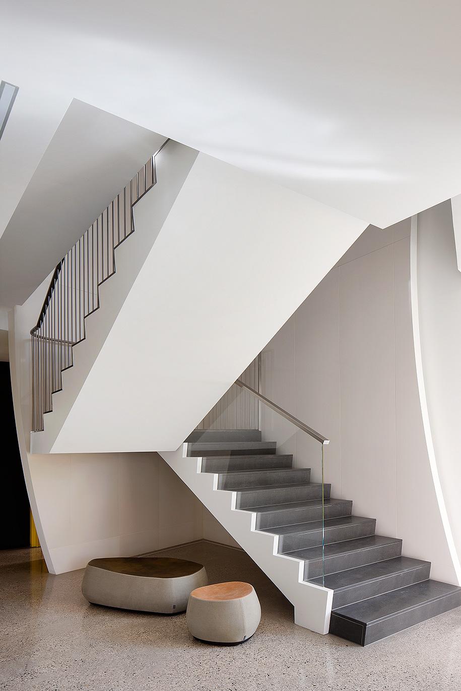 Field House Robert Puksand staircase