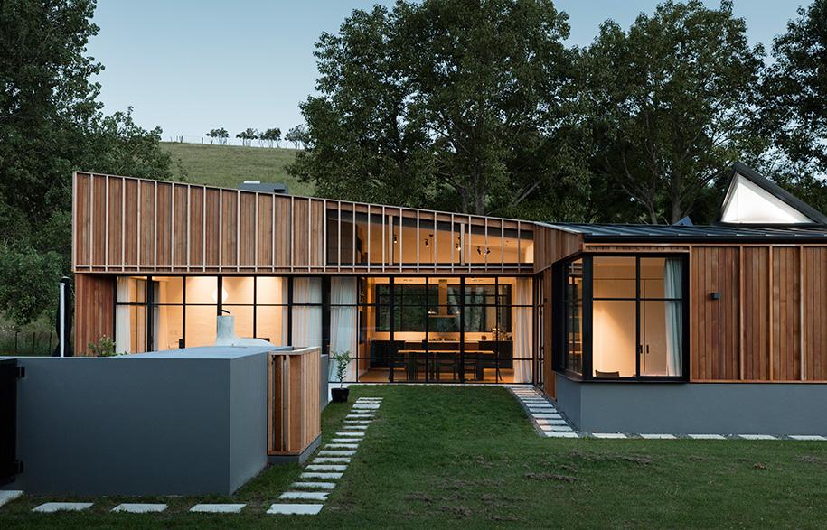 Glamuzina Architects Matakana exterior