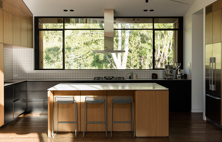 Glamuzina Architects Matakana kitchen