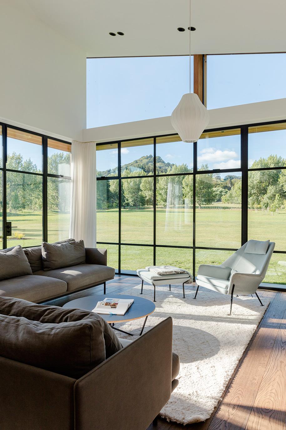 Glamuzina Architects Matakana living room