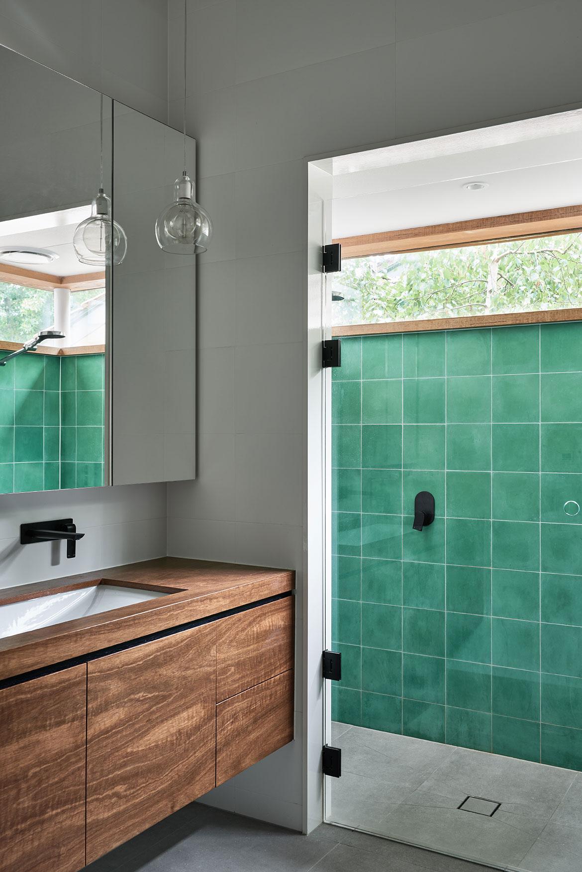 Glen Iris House Pleysier Perskins bathroom