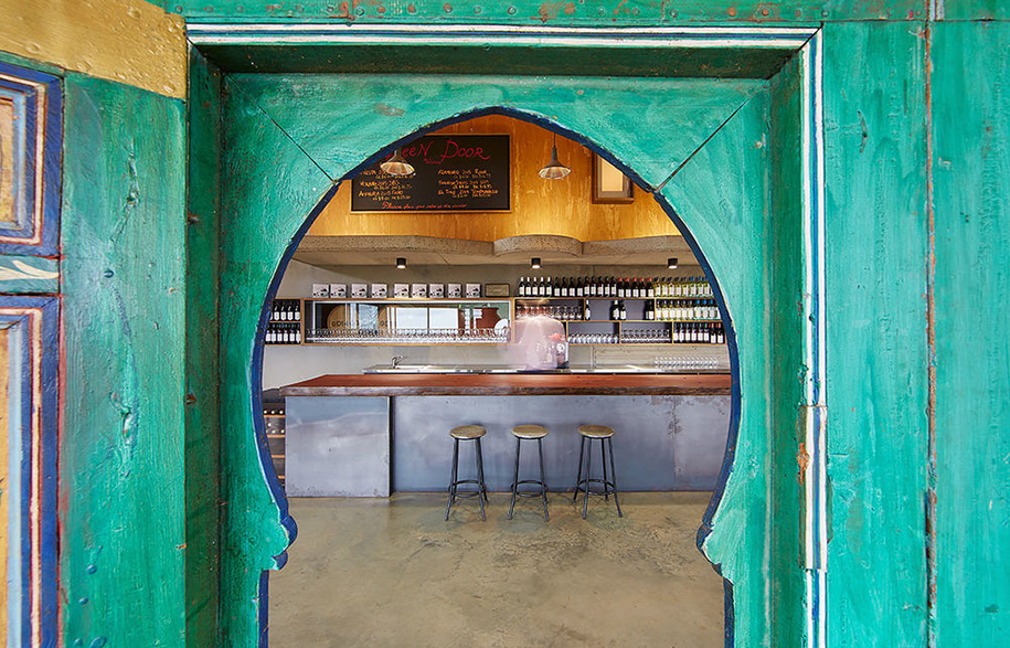 Green Door Winery Cellar | Habitus Living