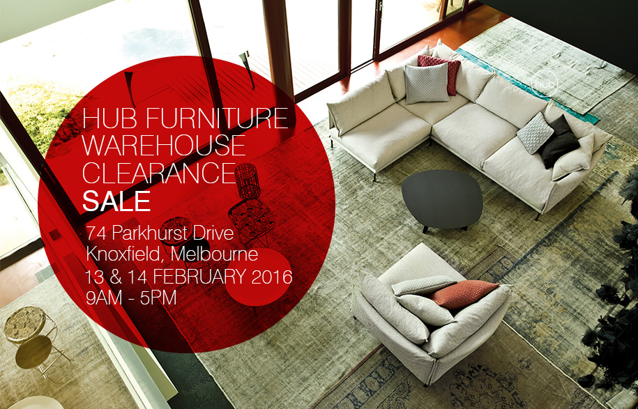 The countdown is on for Hub Furnitures Warehouse Clearance Sale