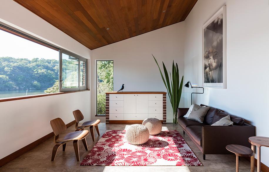 Josephine Hurley Kingfisher House living room