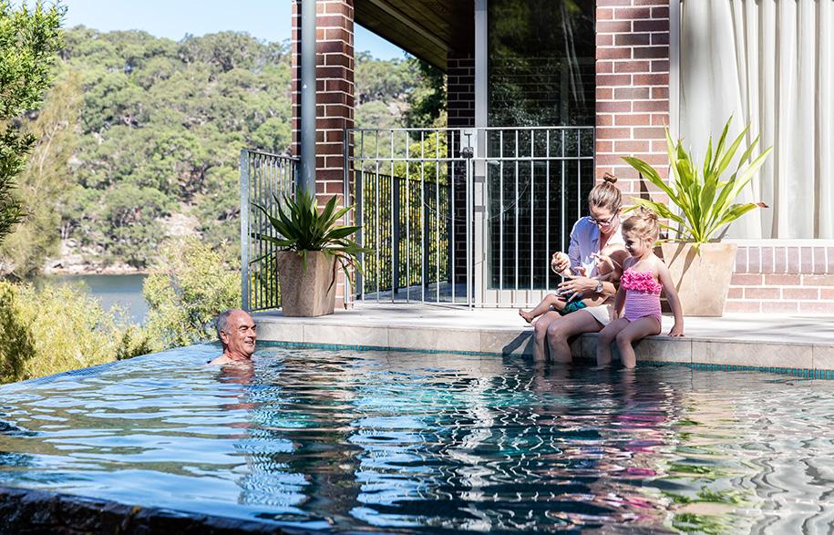 Josephine Hurley Kingfisher House pool