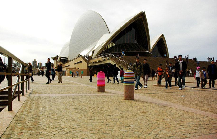 Knitting Groups Sydney : Yarn bombing an old craft re imagined habitusliving