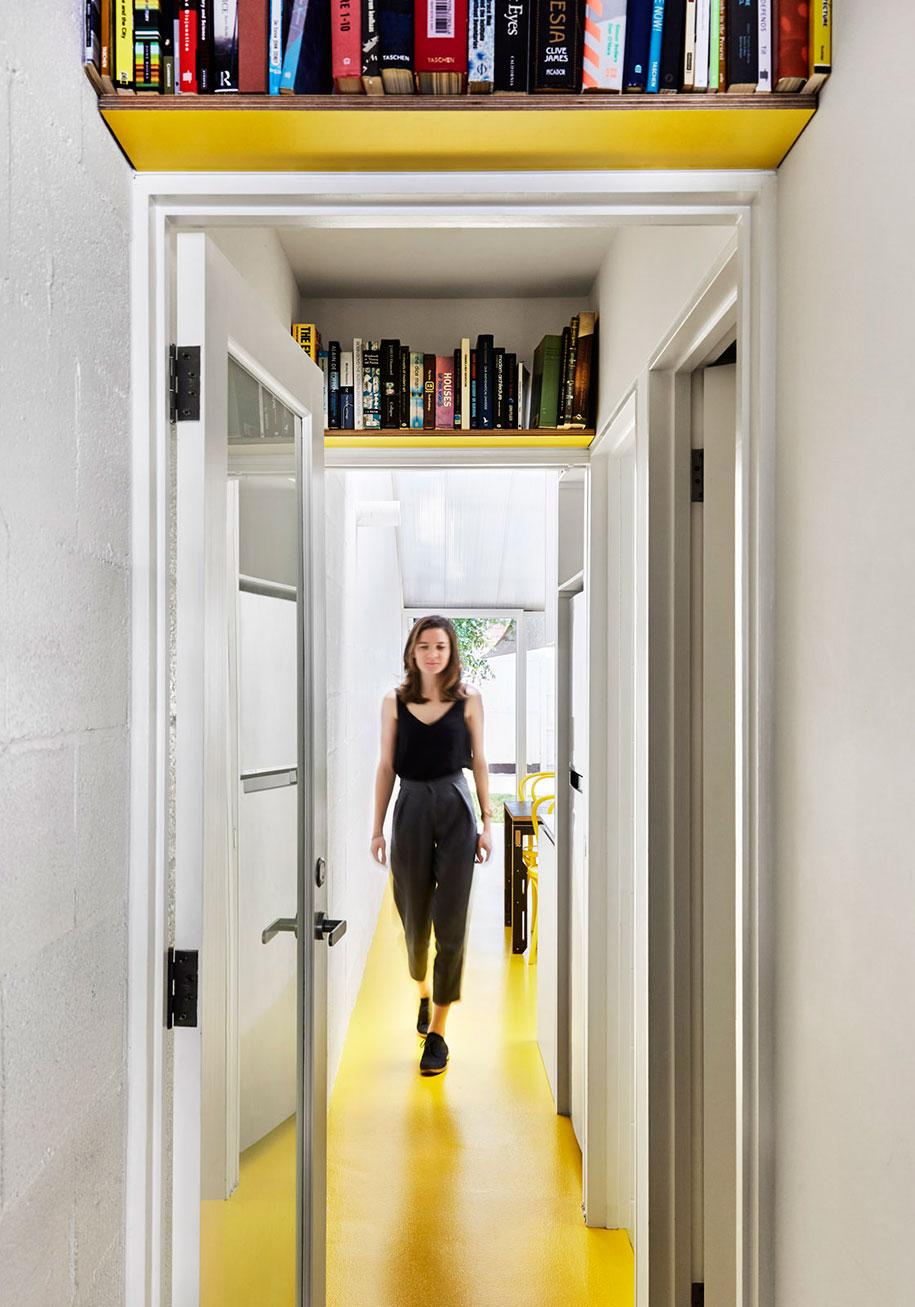 Mental Health House corridor