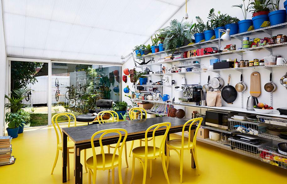 Mental Health House kitchen