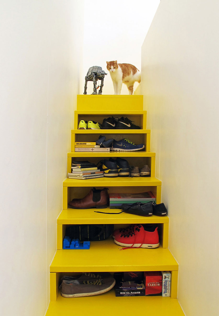 Mental Health House staircase