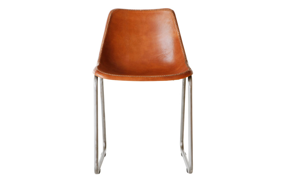 Moulded-Leather-Chair--Tan_$245