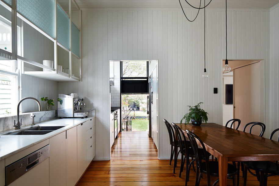 West end cottage renovation a photo essay Kitchen design centre brisbane