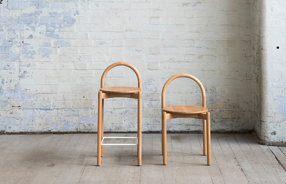 SBW Halo stool dining chair