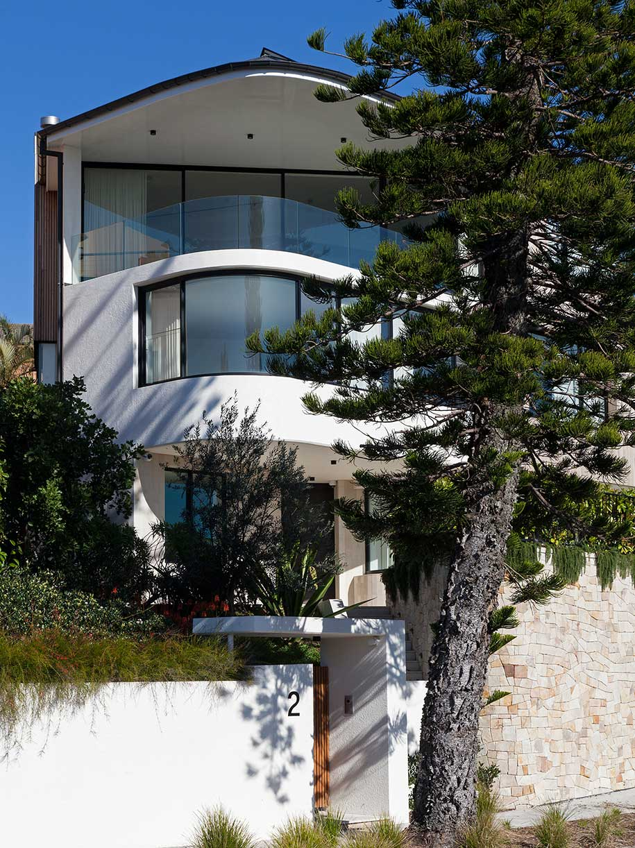 Tamarama House Porebski Architects street