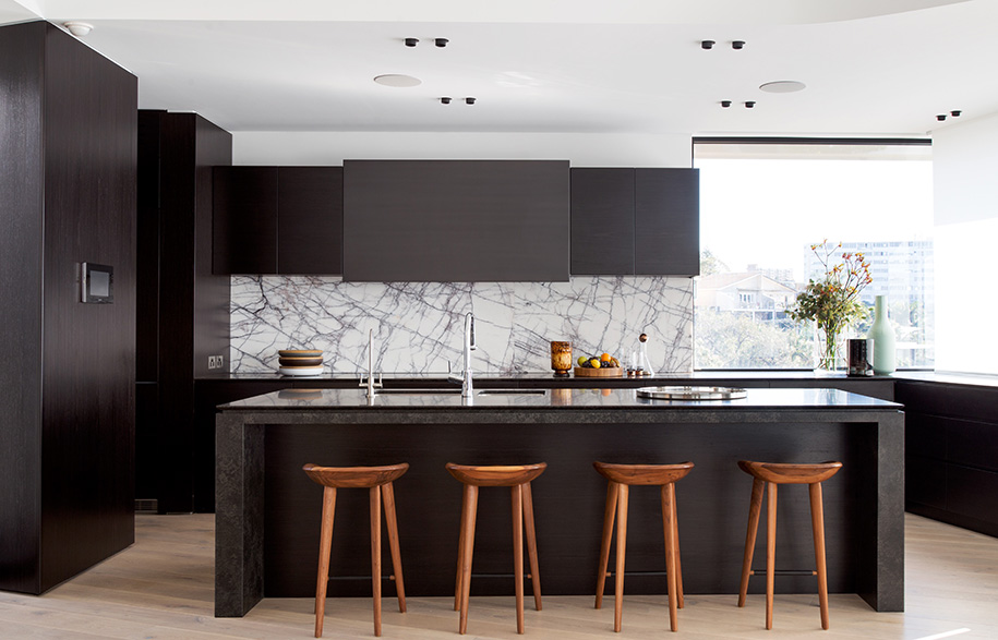 Tamarama House Porebski Architects kitchen