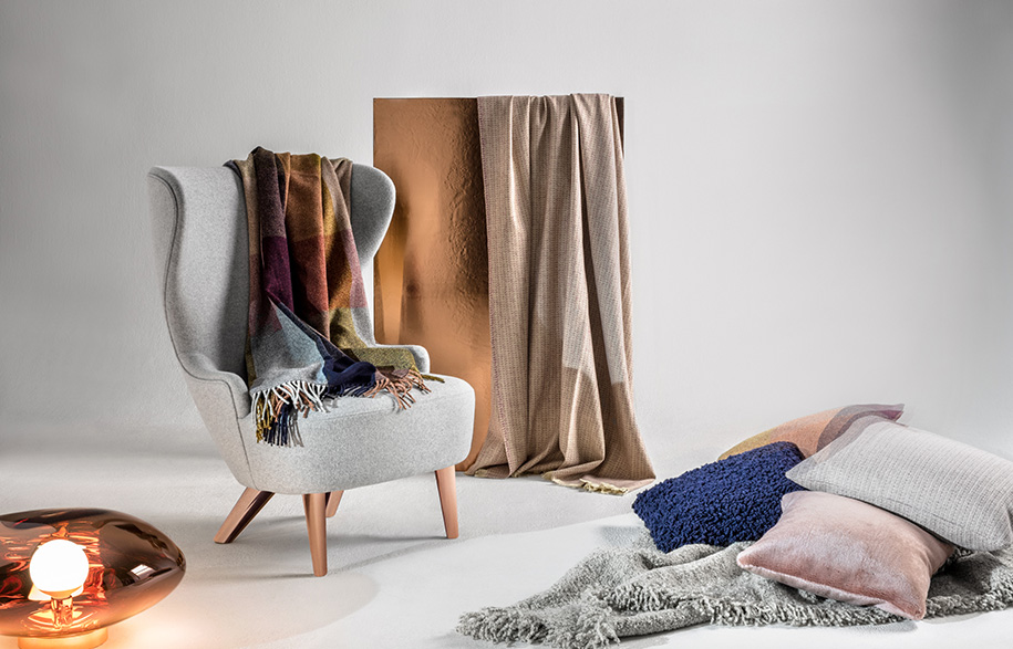 Textile-Lifestyle-3---Check,-Boucle,-Soft-with-Wingback-Micro-and-Melt-Surface-Copper