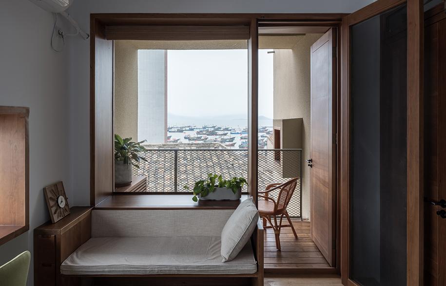 Vector Architects Captains House balcony