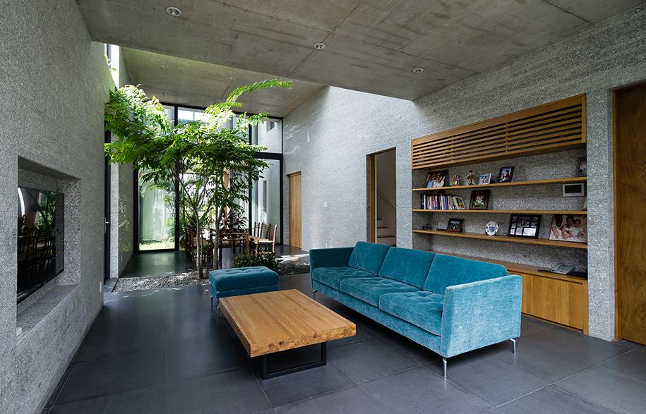 Vo Trong Nghia Binh House Living Room