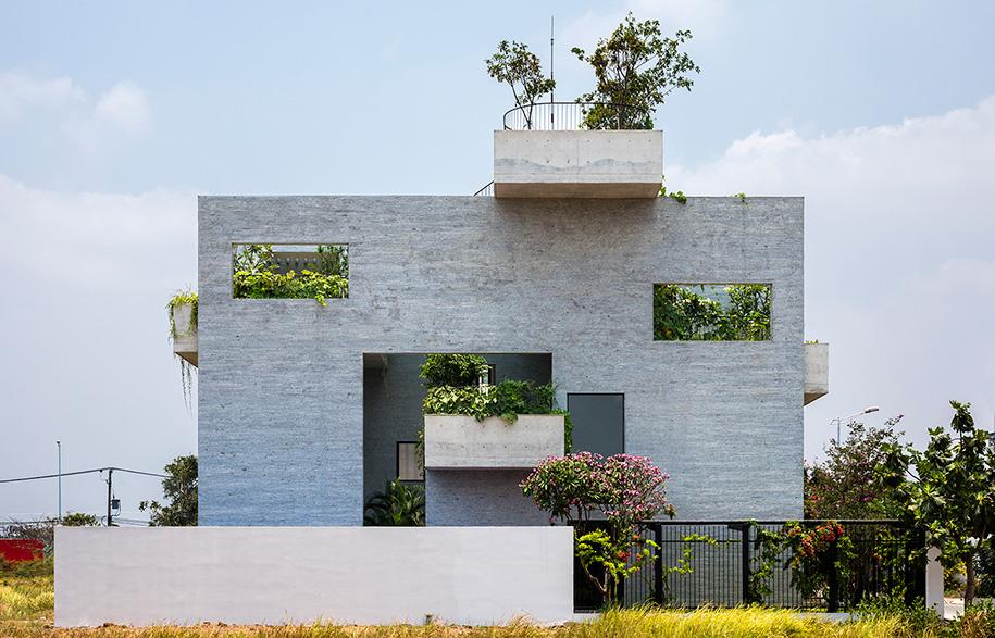 Vo Trong Nghia Binh House Streetscape