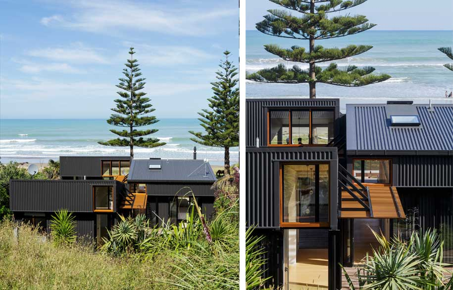 ... Living By Fkda Architects. A Modern Beach House Informed By An Old Shed