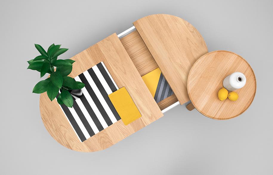 Batea Woodendot Coffee Table